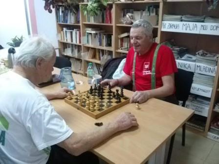 Concentration and enjoyment over a game of chess