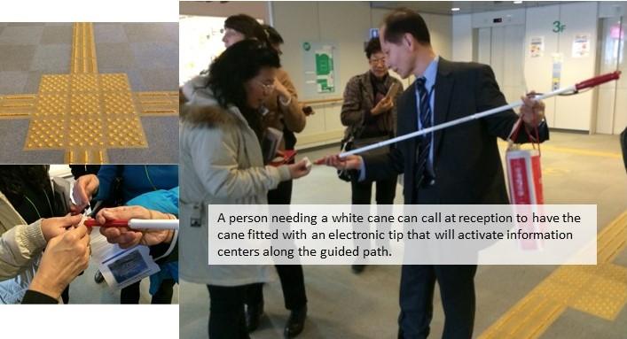 white-cane